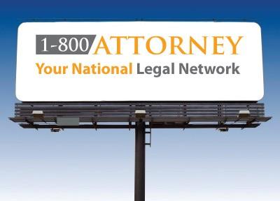 1-800-ATTORNEY Billboard