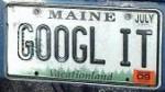 internet vanity plate