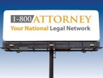 outdoor lawyer ad